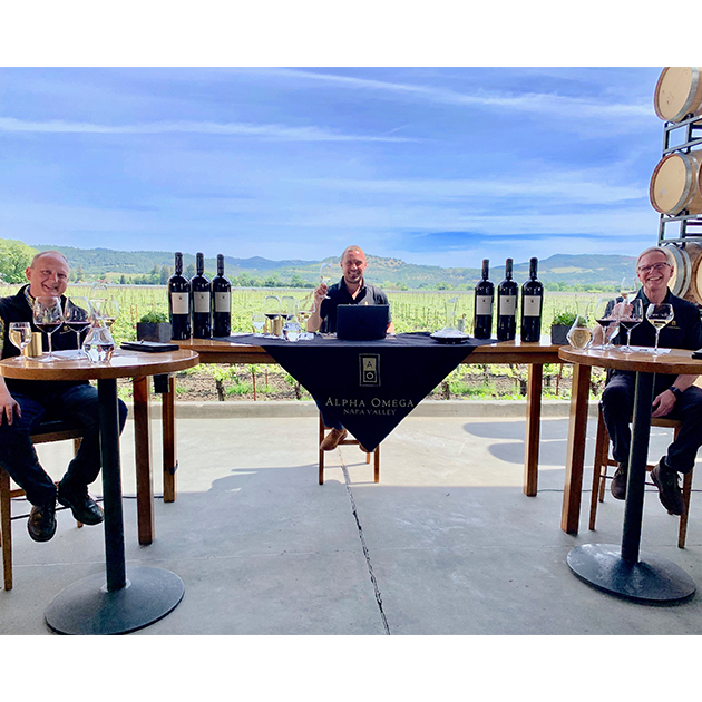Virtual Wine Tasting Experience July 18, 2020